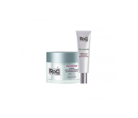 RoC® Pro-Define reafirmante 50ml + Pro-Sublime revitalizante ojos 15ml