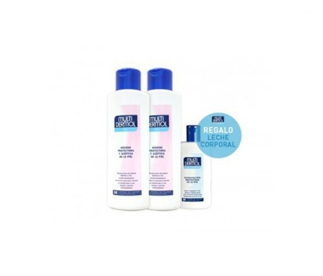 Multidermol gel 750ml+750ml + OBSEQUIO leche hidratante 250ml