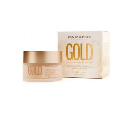 Paraiso Cosmetics Gold crema facial antiedad 50ml