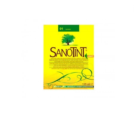 Santiveri Sanotint nº01 color negro 125ml