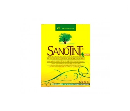 Santiveri Sanotint nº22 color frutas del bosque 125ml