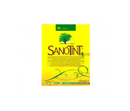Santiveri Sanotint nº24 color cereza 125ml