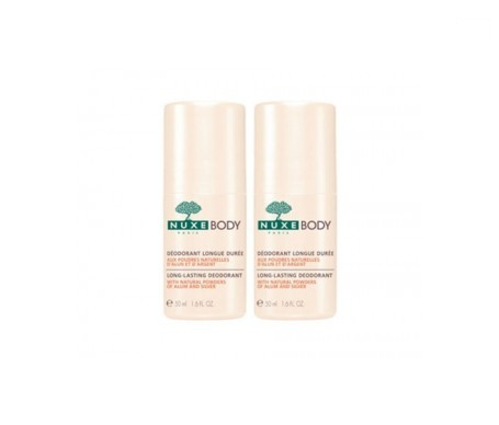 Nuxe Body desodorante larga duración 50ml+50ml