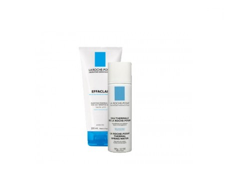 La Roche-Posay Effaclar gel mousse 200ml + agua termal 150ml