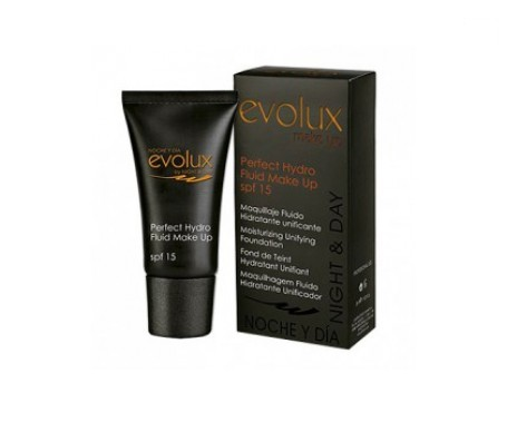 Evolux Perfect Hidro Fluid 12 SPF15+ maquillaje 35ml