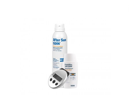 Isdin® Foto Ultra 100 spot prevent fusion fluido 50ml + aftersun 500ml + OBSEQUIO