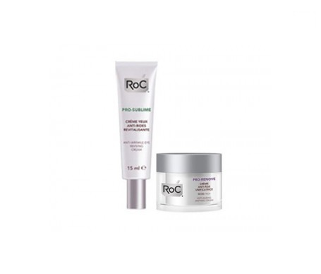 RoC® Pro-Renove crema antiedad unificante 50ml+RoC® Pro-Sublime crema revitalizante ojos 15ml