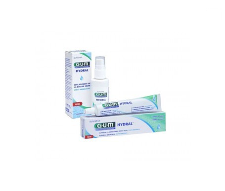 GUM® Hydral spray hidratante 50ml+Gum Hydral gel hidratante 50ml