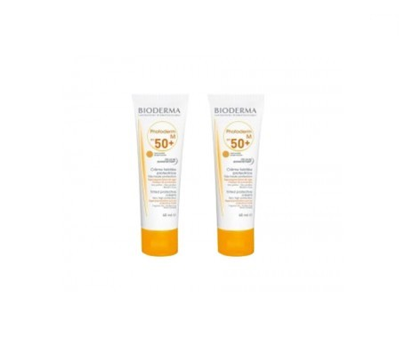 Bioderma Photoderm M SPF50+ crema color dorado 40ml+40ml
