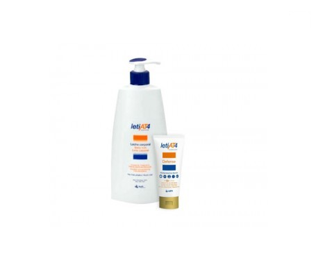 LetiAT4 leche corporal 500ml + Defense SPF50+ 100ml