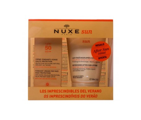 Nuxe Pack Sun Facial SPF50+ 50ml + Regalo Aftersun 100ml