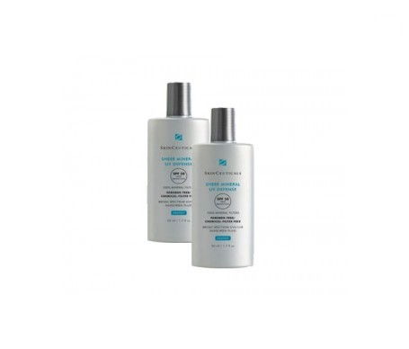 Skinceuticals Sheer Mineral SPF50+ 50ml+50ml