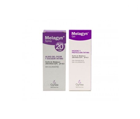 Melagyn® gel íntimo 200ml + spray hidratante vaginal 40ml