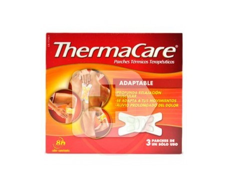 ThermaCare parches térmicos adaptable 3uds