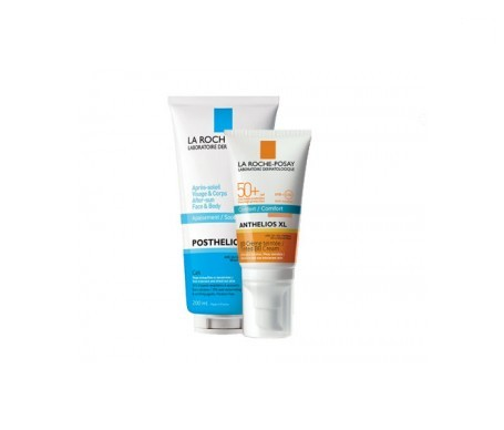 La Roche-Posay Anthelios XL crema BB SPF50+ 50ml+Posthelios 100ml