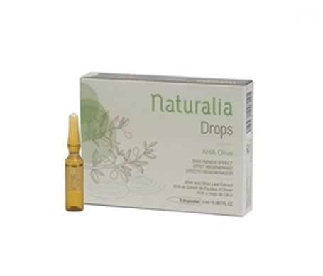 Naturalia Drops AHA Olive ampollas 5x2ml