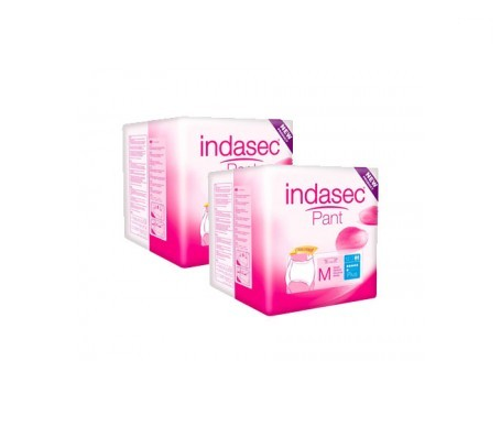 Indasec® Pant Plus talla media 12uds + REGALO 12uds