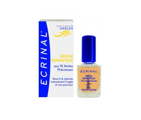 Ecrinal serum reparador uñas 10ml