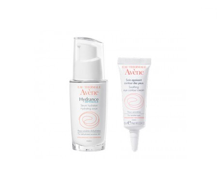 Avène Hydrance Optimale sérum hidratante 30ml + contorno de ojos 10ml