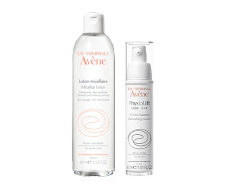Avène loción micelar 400ml + Physiolift crema antiarrugas reestructurante 30ml