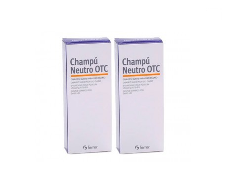 Otc champú neutro 250ml+250ml