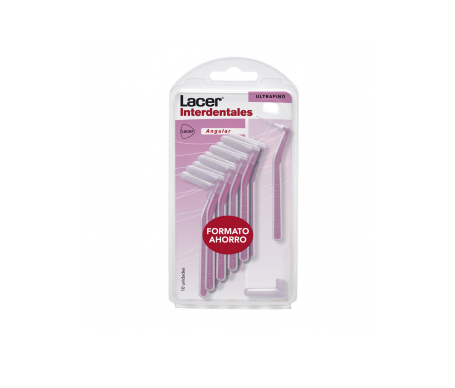 Lacer Interdental angular extrafino 10uds
