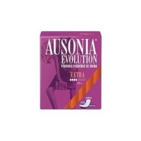 Ausonia Evolution Extra compresas ligera 20uds