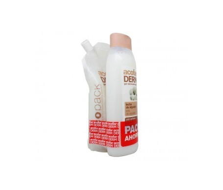 Acofarderm gel algodón 750ml + ecopack 250ml