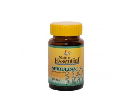 Nature Essential Spirulina 400 Mg 100 Tabletas