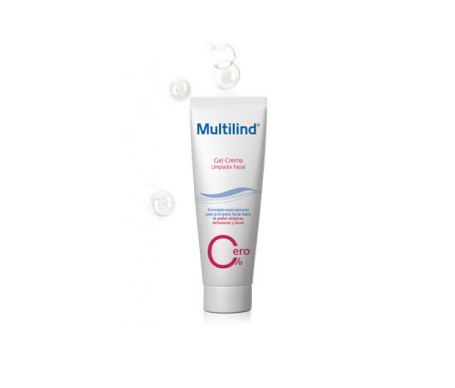 Multilind gel limpiador facial 125ml