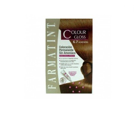 Farmatint Colour Gloss 6.7 almendra 160ml