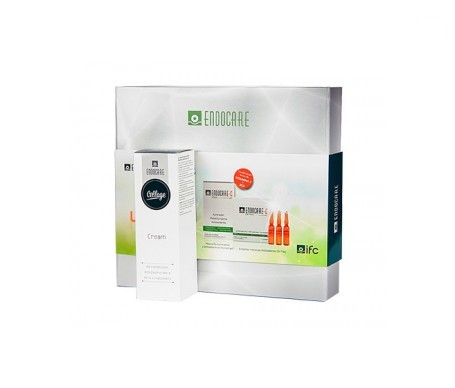Endocare Cellage crema 50ml+mascarilla iluminadora 7amp