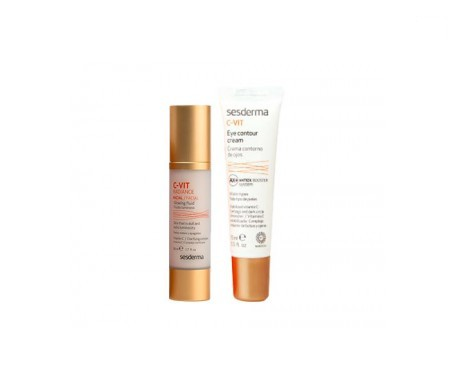 C-Vit Radiance fluido luminoso 50ml+C-Vit contorno de ojos 15ml