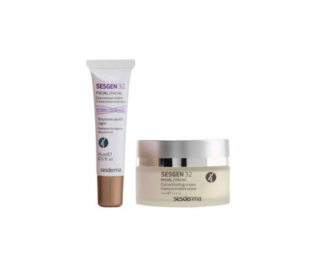 Sesgen 32 50ml+sérum facial 30ml +contorno de ojos 15ml