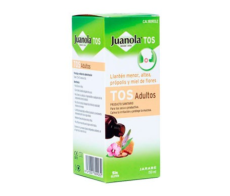 Juanola tos adultos jarabe 150ml