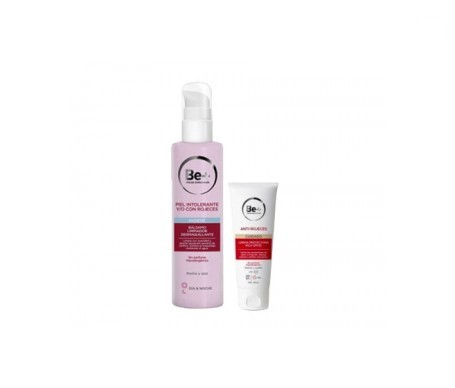 Be+ antirojeces piel seca 50ml + desmaquillante piel intolerante y rojeces 200ml