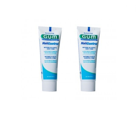 GUM® Halicontrol gel dental 75ml+75ml
