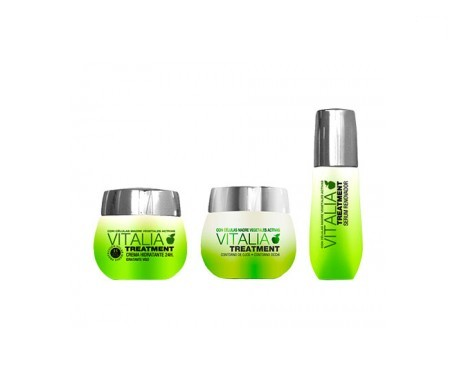 Vitalia Treatment crema 50ml+TH Vitalia sérum 40ml+TH Vitalia contorno ojos 30ml