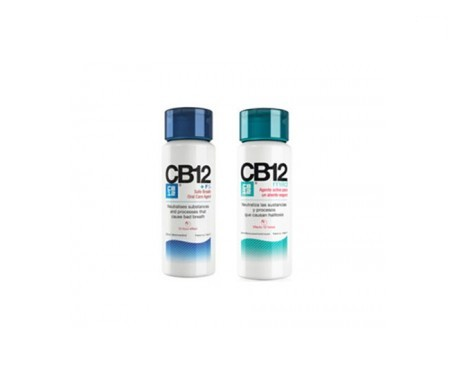 CB12® enjuague bucal 250ml + enjuague bucal suave 250ml