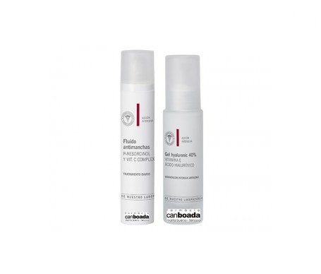 Mb fluido antimanchas spf30+Gel hyaluronico 40%50ML