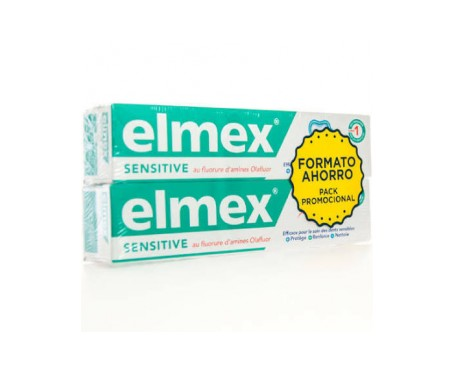 Elmex Sensitive Pack Pasta 75 Ml + 75 Ml
