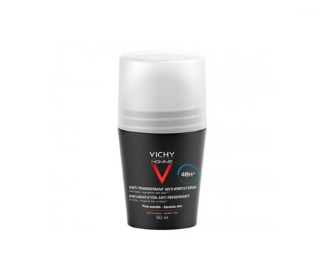 Vichy Homme desodorante piel sensible roll on 50ml