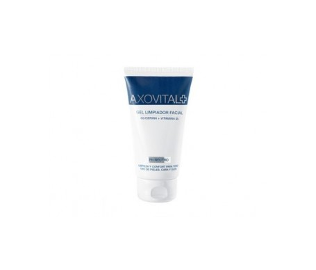 Axovital gel limpiador facial 150ml