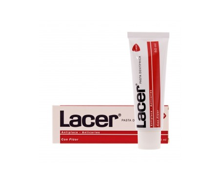 Lacer pasta dental con flúor 50ml