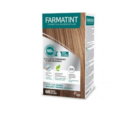Farmatint 6N rubio oscuro 155ml