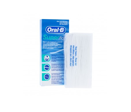 Oral-B Super Floss seda dental 50 hilos
