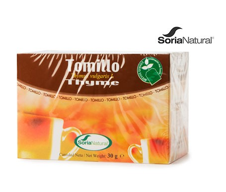 Soria natural tomillo 20 filtros
