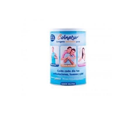 Colnatur® colágeno sabor neutro 300g