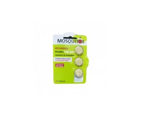 Mosquitox recambio 3uds
