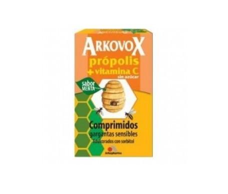 Arkovox própolis + vitamina C 24comp